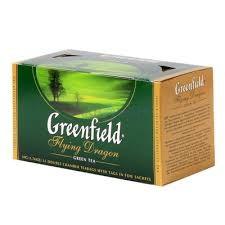 Чай Грінфілд Флайн Драгон зелений 25 пак/уп