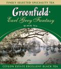 Чай Грінфілд Ерл Грей чорний з бергамотом листовий 90г