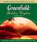 Чай Грінфілд Голен Цейлон чорний листовий 90г