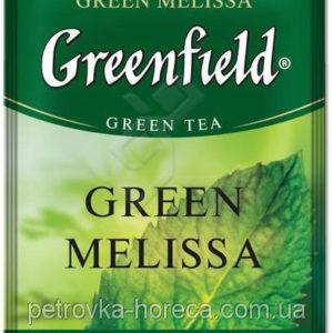 Чай Грінфілд Грін Меліса зелений з мелісою листовий 90г